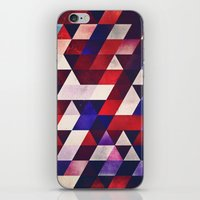 ryd whyte blww iPhone & iPod Skin
