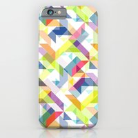 iPhone & iPod Case featuring Aztec Geometric II by AJJ ▲ Angela Jane Johnston