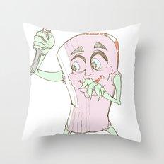 Stab-YA Throw Pillow