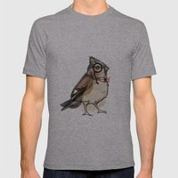 Mister Bird For Sorted E… Mens Fitted Tee Athletic Grey SMALL