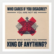 Sara Bareilles - King of Anything Art Print