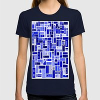 Doors - Blues Womens Fitted Tee Navy SMALL