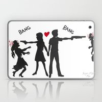 Zombie Hunting Laptop & iPad Skin