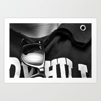 Ray Bans Art Print