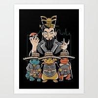 Big Trouble In Little Ka… Art Print