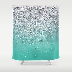 Spark Variations I Shower Curtain