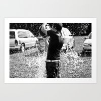 Drenched Art Print