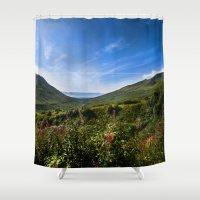 The Space Beyond - Alaska Shower Curtain
