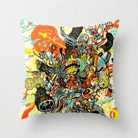 Triefloris Throw Pillow