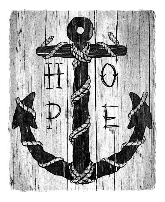 H O P E Art Print