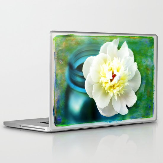 Summer White Laptop & iPad Skin