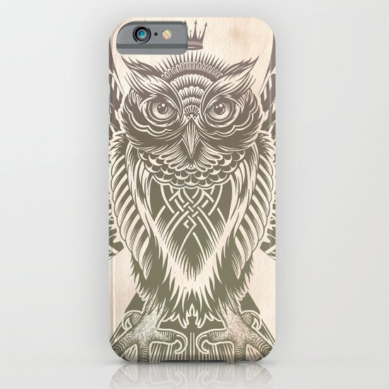 Silent Flight (Owl Wings) iPhone & iPod Case