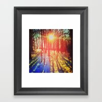 Take The Prismatic Path (002) Framed Art Print