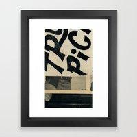 River Bummin' Framed Art Print