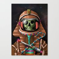 The Pharaoh's Ascension Canvas Print
