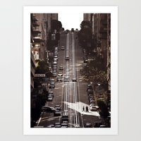 San Francisco Hills Art Print