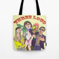 Three Loco Tote Bag