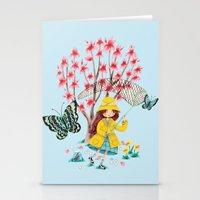Butterfly Catcher Stationery Cards