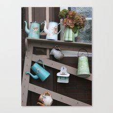 Enamelware Canvas Print