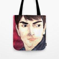 Grimm - Nick Burkhart Tote Bag