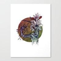 Bouquet De Nerfs Canvas Print