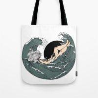 Sail to sea Tote Bag