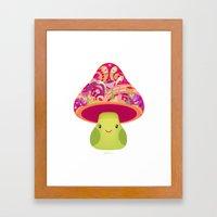 Mrs. Shroom Framed Art Print