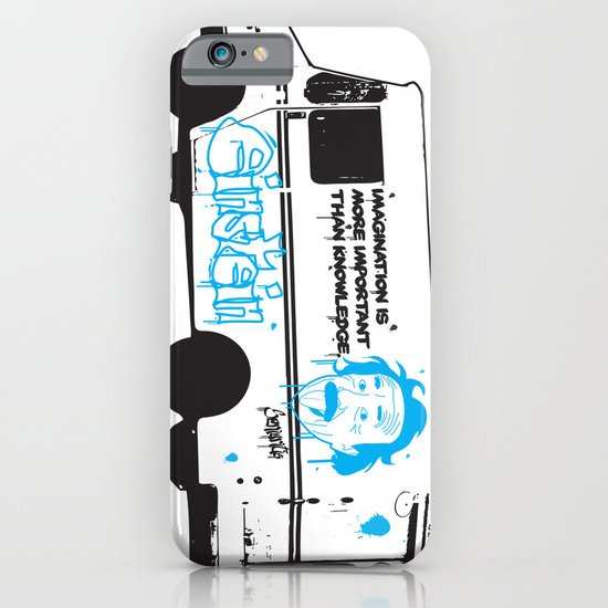 Albert Einstein - Streetwise Seniors iPhone & iPod Case