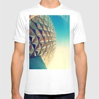 Epcot Mens Fitted Tee White SMALL