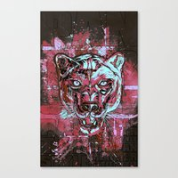 Panther Style. Canvas Print