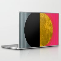 sunset Laptop & iPad Skins featuring Abstract Sunset by Georgiana Paraschiv