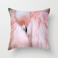 Flamingo #2 Throw Pillow