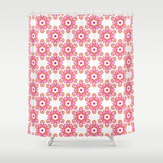 Citrus Morning Mandala Shower Curtain