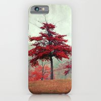 iPhone & iPod Case featuring rosso by Claudia Drossert