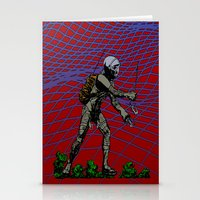 In Martian Fields Stationery Cards
