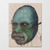 Golem Canvas Print