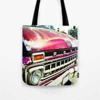 Ford Tough Tote Bag