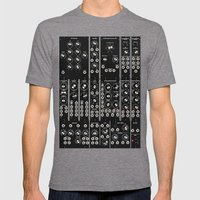Modular Man Mens Fitted Tee Tri-Grey SMALL