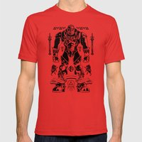 Legend of Zelda Ganondorf the Wicked Mens Fitted Tee Red SMALL