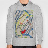 Amsterdam Map design Hoody