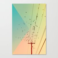 Canvas Print featuring Cool World #1 by Alicia Bock