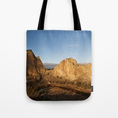 Smith Rock Sunrise II Tote Bag