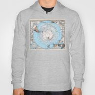 South Polar Map Stielers… Hoody