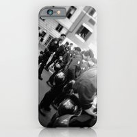 iPhone & iPod Case featuring Roman student protest by matthew nash