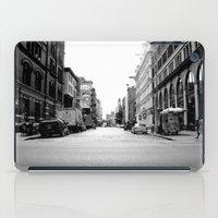 New York crosswalk iPad Case