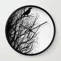 Dead Tree Wall Clock