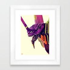 Eva 01 Framed Art Print