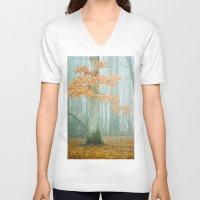 Autumn Woods Unisex V-Neck