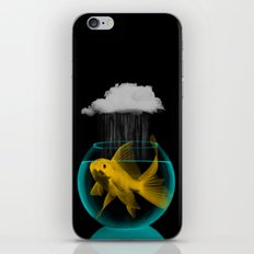 A tight spot in the rain iPhone & iPod Skin