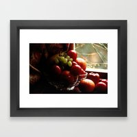 Fruit Of The Moors  Framed Art Print